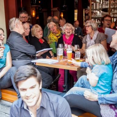 6 - 7.14 Zingen in Bruin Café Orloff
